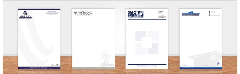 letterhead design and print set7